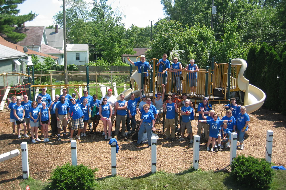 Little Dove Day Care Playground Build 083 3-2