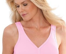 Seamless Wirefree Leisure Bra by Comfort Choice