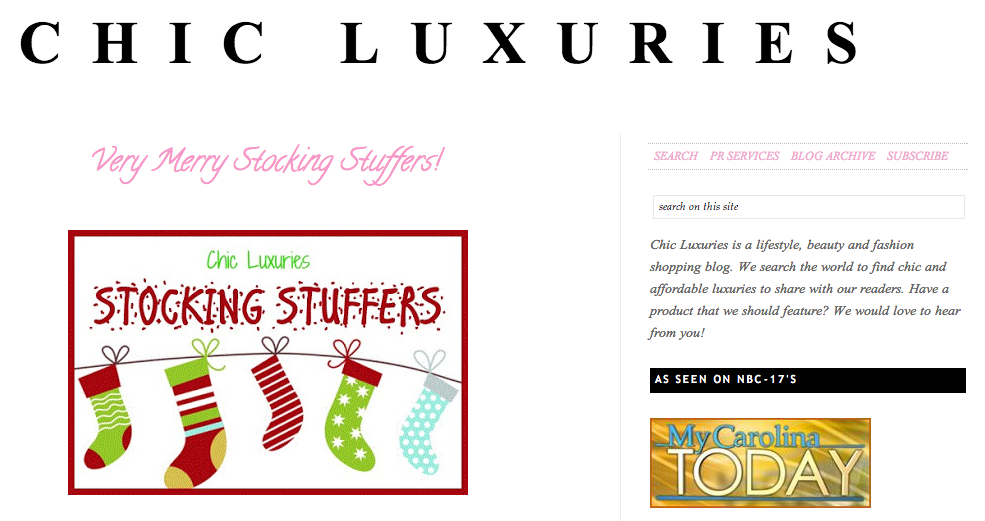 Chic Luxuries