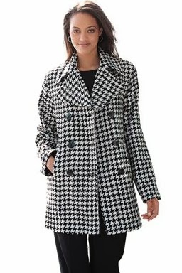 Classic Wool Pea Coat from Jessica London