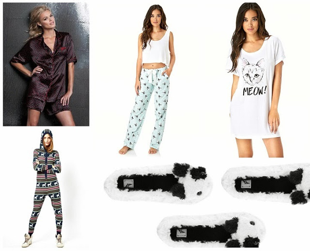 Sleepwear selections by Sammie